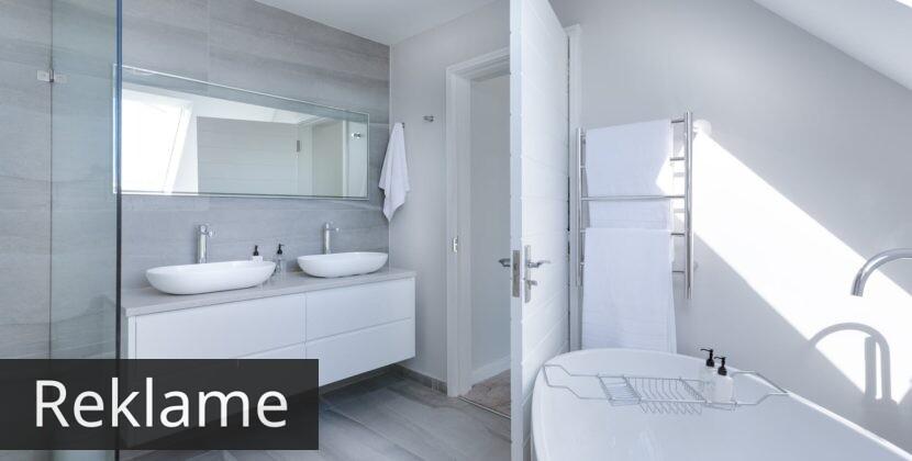 Sådan får du styr på dit nye badeværelse