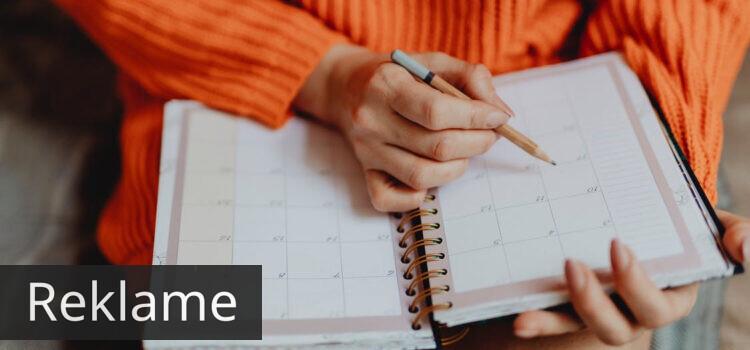 Få overblik over hverdagen med en kalender